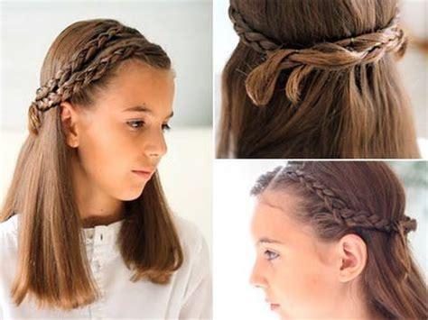 peinados nias peinado con trenzas para ni 241 as youtube peinados