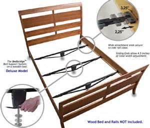 Bed Frame Support System Bedbridge Support Deluxe Bed Frame Supports
