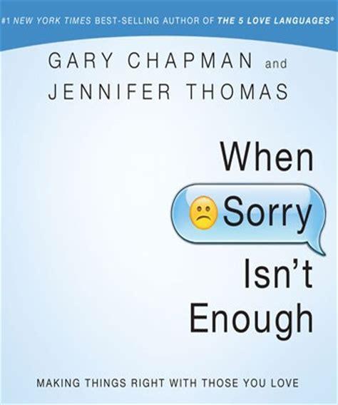 Pdf When Sorry Isnt Enough by When Sorry Isn T Enough