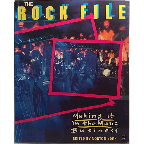 Rock File Making It In The Music Business Used Book Year 1991