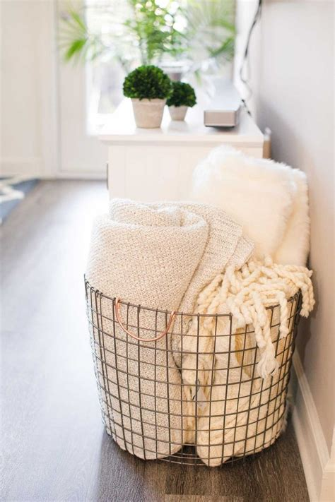 large basket for storing throw pillows 25 best ideas about blanket basket on pinterest blanket storage baskets for storage and