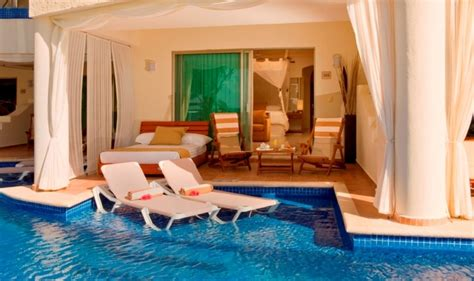 resorts with swim up rooms mexico and world on
