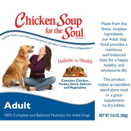 chicken soup for the soul puppy food chicken soup for the lover s soul canned food 1800petmeds