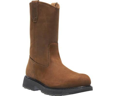 wolverine slip resistant steel toe eh 10 quot wellington work