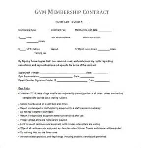 membership agreement template contract template 12 free word pdf documents