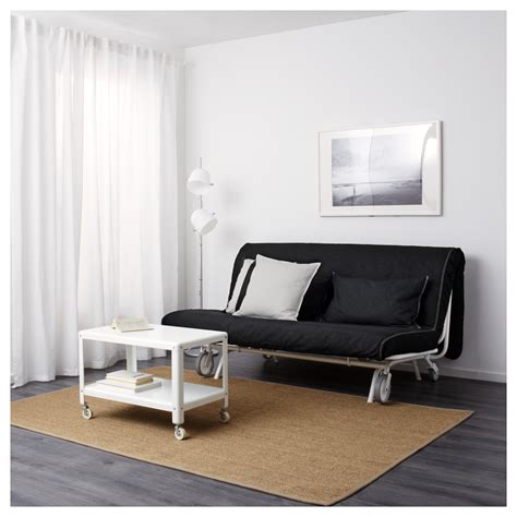 ps murbo two seat sofa bed vansta black