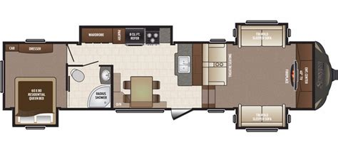 sprinter 5th wheel floor plans 2017 keystone sprinter 334fwfls cing world of akron 1348042
