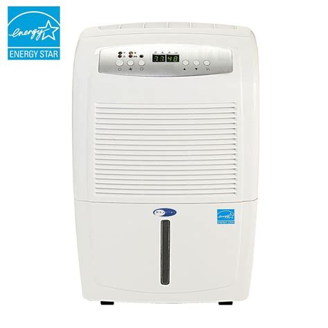 built in dehumidifiers for basements spt 70 pint dehumidifier with built in and energy