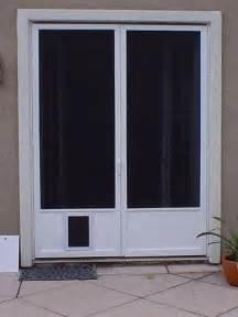 Sliding Screen Door With Dog Door Built In Doggie Doors For French Doors Glass Patio Doors