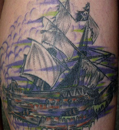picture tattoo collection ghost ship tattoos