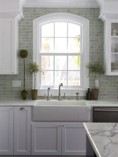 subway tile for kitchen large kitchen window treatments hgtv pictures ideas