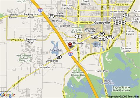 map of gainesville fl west central florida attractions autos post