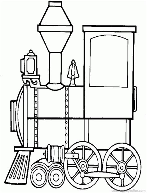 choo choo train coloring pages coloring home