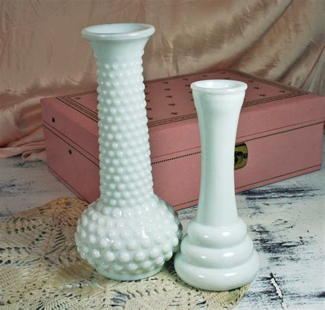 Brody Co Milk Glass Vase by Two Milk Glass Vases E O Brody And Randall Co