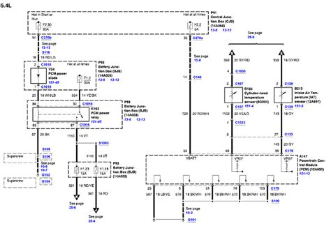 2002 f 150 wiring diagram 5 4l 4x4 the maf so i