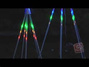 gemmy lightshow trees youtube