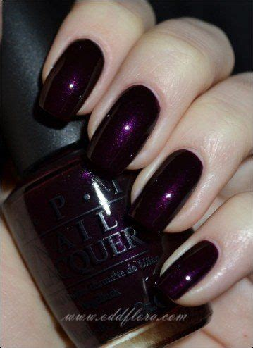 opi purple colors oddflora nails nail purple purple nails purple