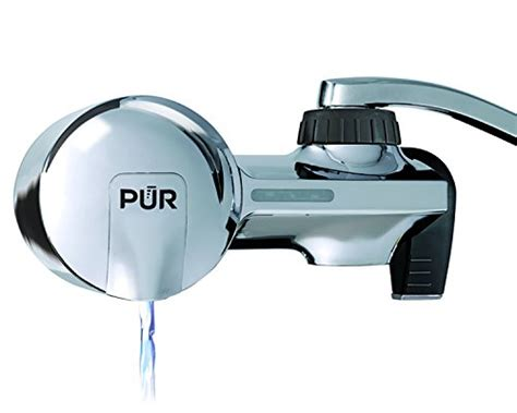 Pur Water Faucet Filter Troubleshooting by Pur Pfm150w White Basic Faucet Mount Water Filtration