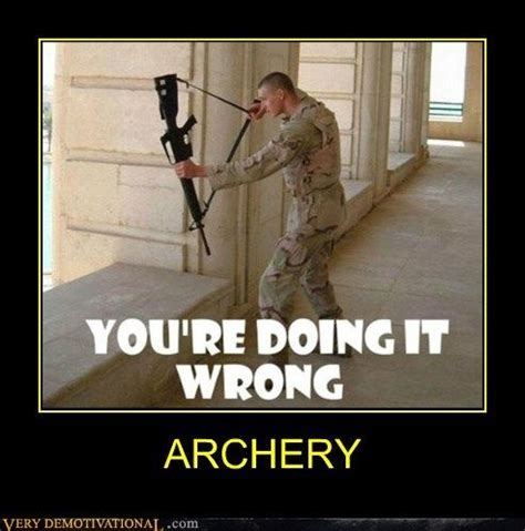 Bow Hunting Memes - funny archery memes pictures archery passion