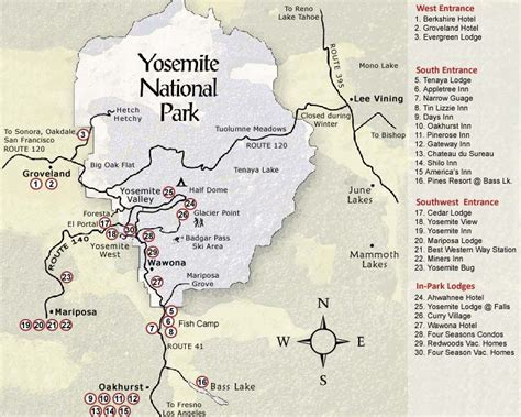 california map near yosemite yosemite map california yosemite national park map see
