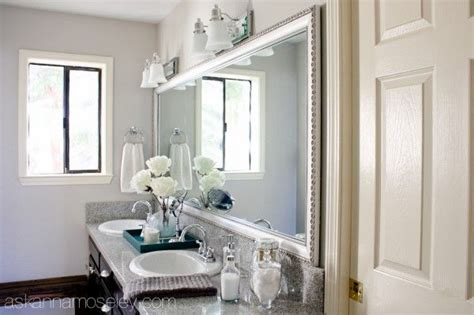 bathroom mirror makeovers bathroom mirror makeover with mirrormate bathroom ideas