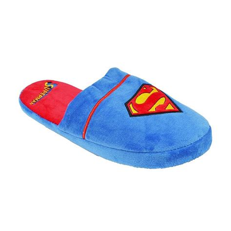 superman slippers dc comics official superman slippers ebay