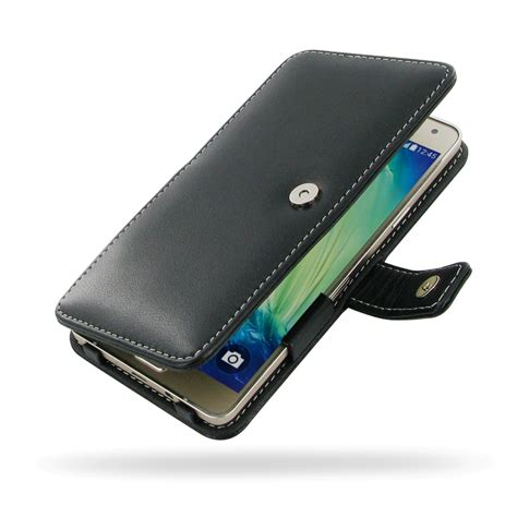 Leather Galaxy A7 samsung galaxy a7 leather flip cover pdair sleeve pouch