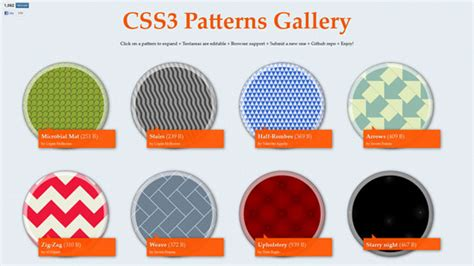 pattern html5 css3 html5 experiments that will blow your mind 47