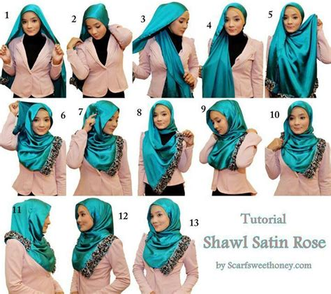 step by step pictorial tutorials of different style puff 17 best images about hijab tutorial step by step on