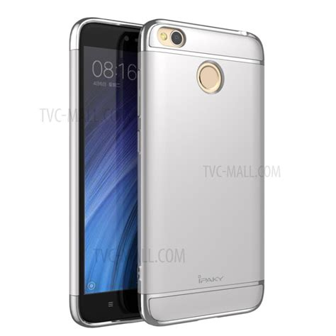 Ipaky Xiomi 4 ipaky 3 in 1 electroplating pc back cover for xiaomi