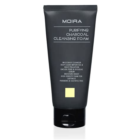 Charcoal Detox Purifying Wash Home And Co by Purifying Charcoal Cleansing Foam Moira Cosmetics