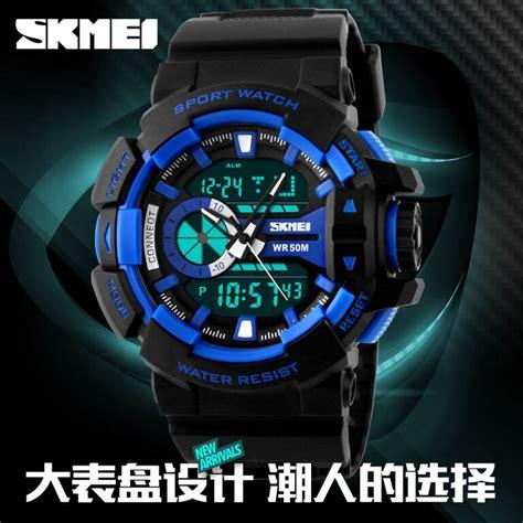 Spesial Skmei Fashion Casual Led Digital Jam Tangan Pria Anti Ai skmei jam tangan digital analog pria ad1117 blue jakartanotebook