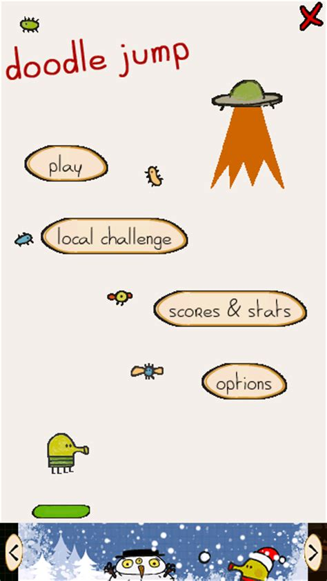 doodle jump version mobile free software and application for mobile phone