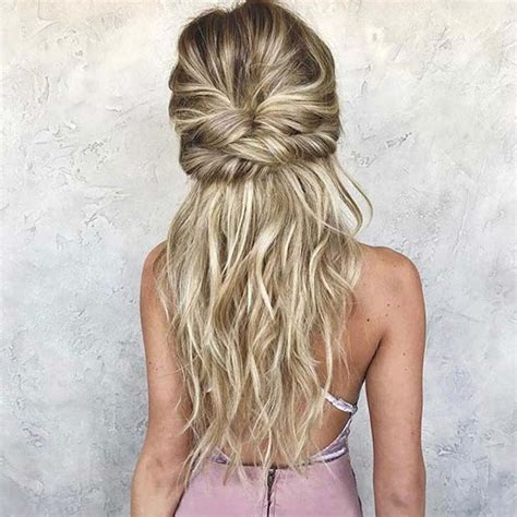 prom hairstyles bohemian 21 beautiful hair style ideas for prom night stayglam