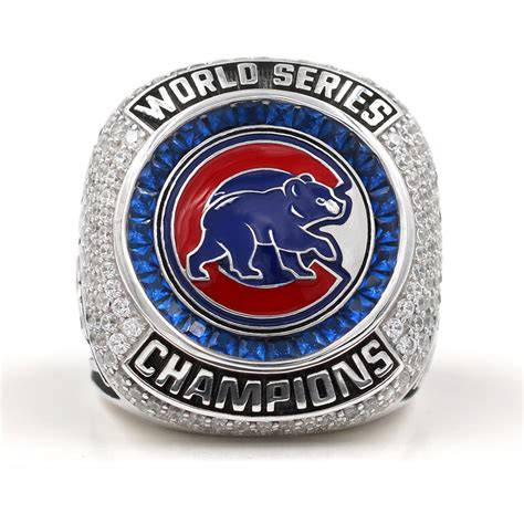 cubs rings burdeen s chicago cubs set to have 108 diamonds in world