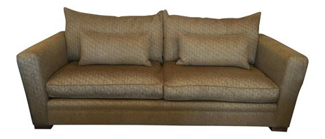 gold chenille sofa gold down feather chenille sofa chairish