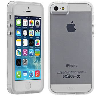 Iphone 5 5s 5se Slim Silicone Casing Black Premium casemate tough for iphone 5 5s clear with