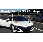 The New Honda Acura NSX In Japan Amazing NXS
