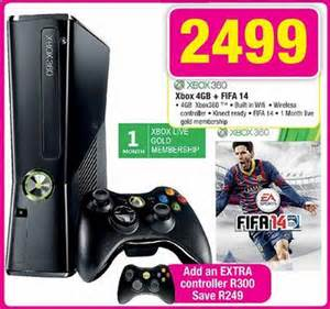 360 For Sale South Africa And Console Specials This Weekend