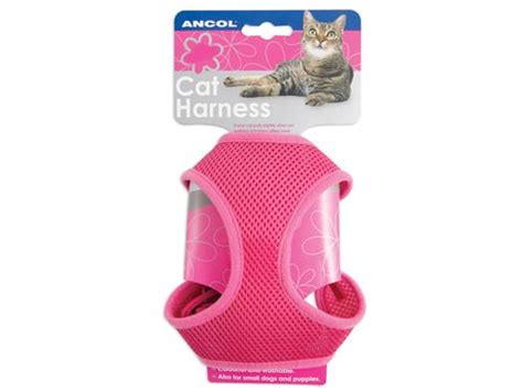 Pink Cat Set pink cat harness lead set large