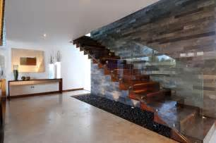 Modern Glass Stairs by Architecture The Most Expensive House In The United