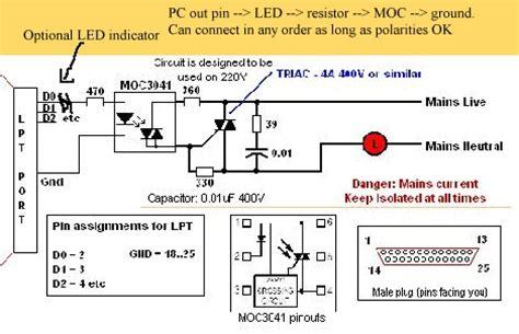 triac resistor wattage triac switching mains led ls interesting problem raspberry pi forums