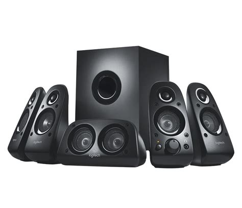 logitech z506 5 1 surround sound speaker system heavyarm