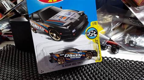 Hotwheels Nissan 180sx Type R Biru new custom 1996 nissan 180sx type x wheels