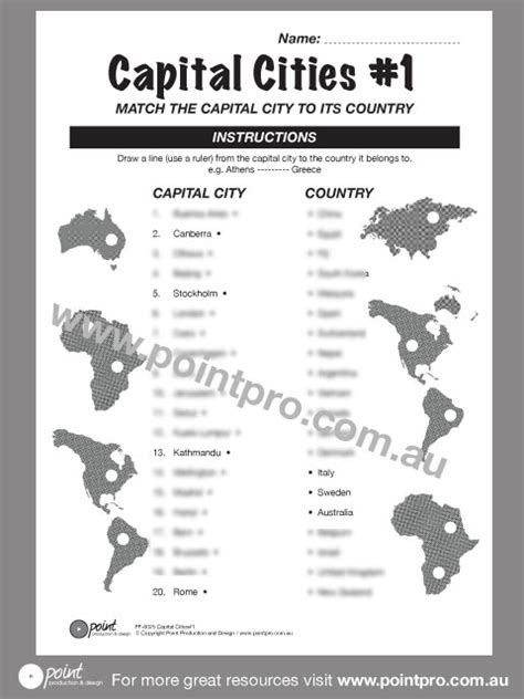 9 Obscure Capital Cities by Capital Cities 1 Point Production And Design