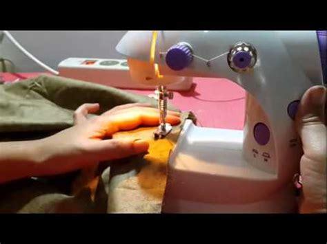 1 Set Mesin Jahit Mini Portable Fhsm 202 Dengan Meja mesin jahit mini mini sewing machine minghui funnycat tv