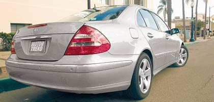 accident recorder 2003 mercedes benz e class electronic throttle control 2003 mercedes benz e500 sport one year update motor trend