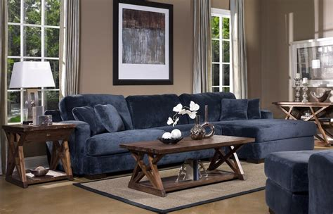 Navy Sofa Living Room Denim Blue Sofas For Uniquely Timeless Look In Your Living Space Blue Sofa