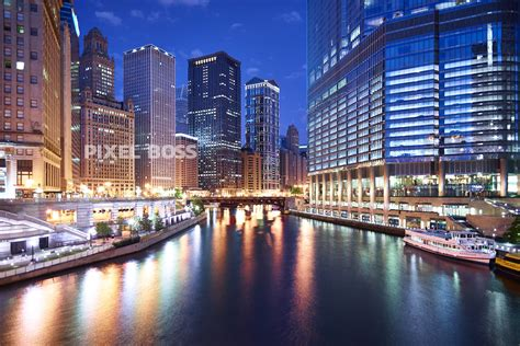 boat walk definition downtown chicago and chicago riverwalk at dawn pixel