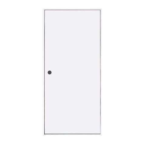 calhome 30 in x 80 in white primed mdf raised 2 panel jeld wen 30 in x 80 in smooth flush primed hardboard